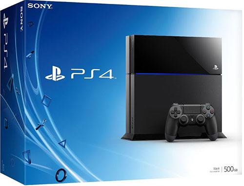 Sony Playstation 4 500GB Fekete