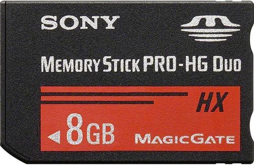 8GB Sony Memory Stick PRO Duo memóriakártya OEM