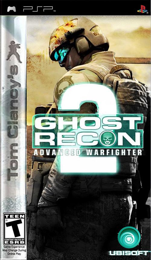 Tom Clancys Ghost Recon Advanced Warfighter 2 - PSP Játékok