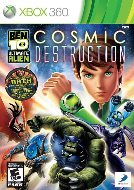 Ben 10 Ultimate Alien - Cosmic Destruction