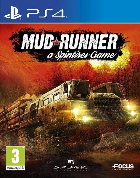Mud Runner a Spintires Game - PlayStation 4 Játékok