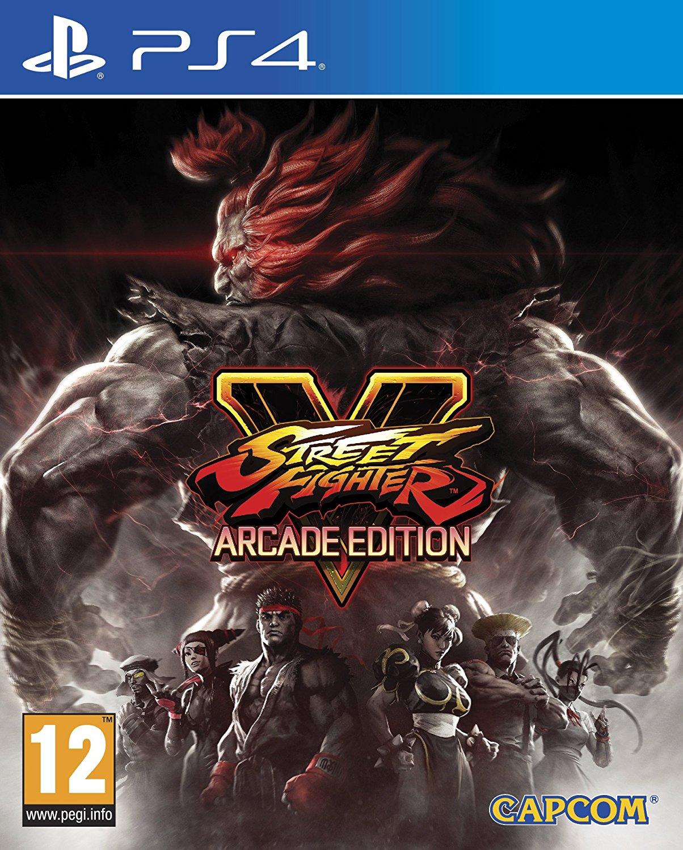 Street Fighter V Arcade Edition - PlayStation 4 Játékok