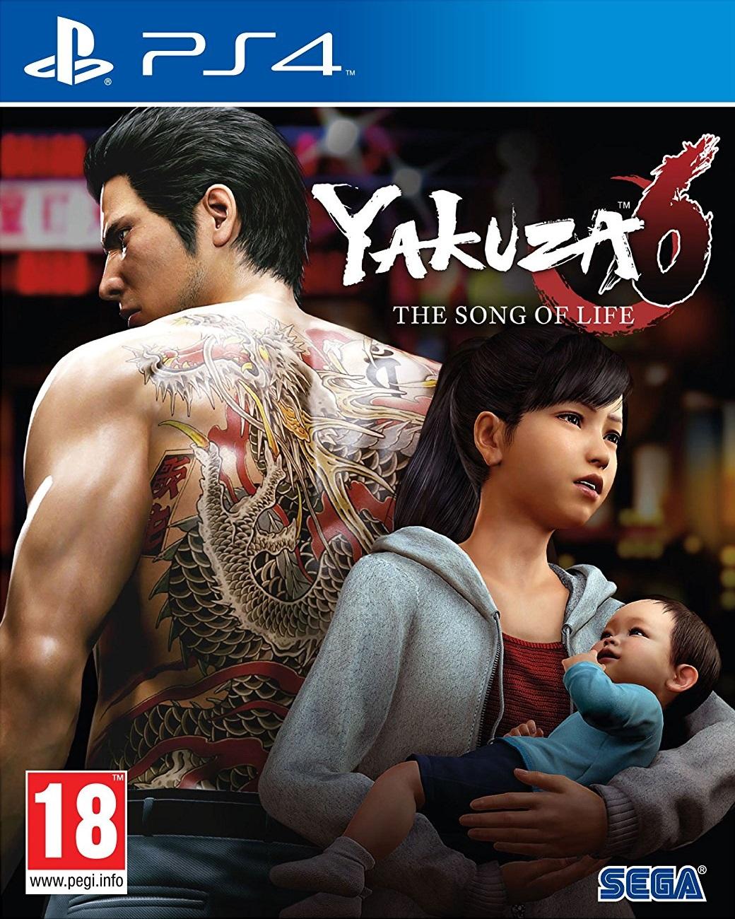 Yakuza 6 The Song Of Life Essence Art Edition - PlayStation 4 Játékok