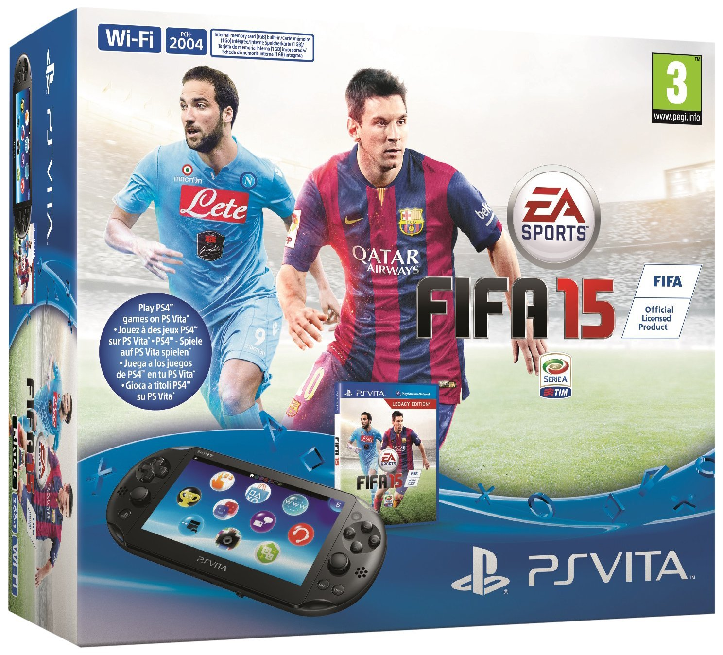 PlayStation Vita Slim Fifa 15 Legacy Edition Boundle