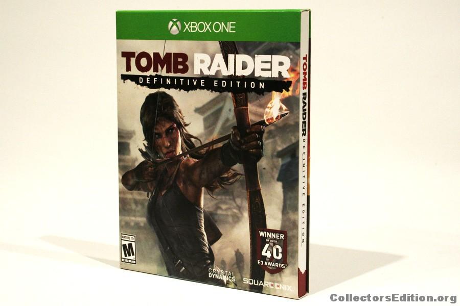 Tomb Raider Definitive Edition Artbook