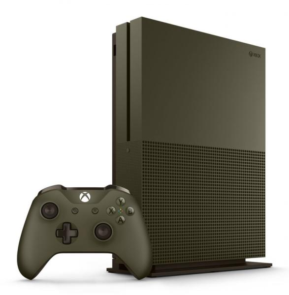 Xbox One S 1TB Limited Military Green Edition  - Xbox One Gépek