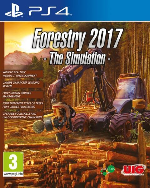 Forestry Simulator 2017 (Forstwirtschaft) - PlayStation 4 Játékok
