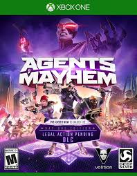 Agents of Mayhem Day 1 Edition