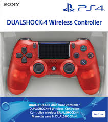 Sony DualShock 4 V2 Wireless Controller (Crystal Red)