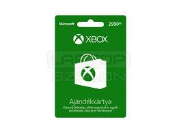 Xbox Live 2990 Ft értékű ajándékkártya - Xbox One Kiegészítők