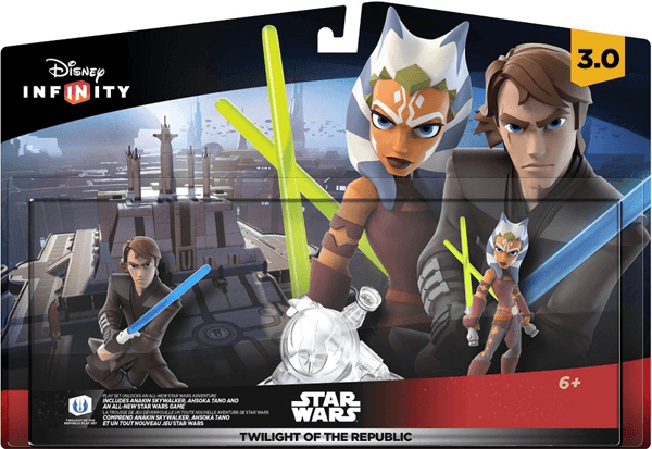 Disney Infinity 3.0 Edition Star Wars Twilight of the Republic Play Set