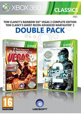Tom Clancy Rainbow Six Vegas 2 Complete Edition + Ghost Recon Advanced Warfighter 2 Double Pack