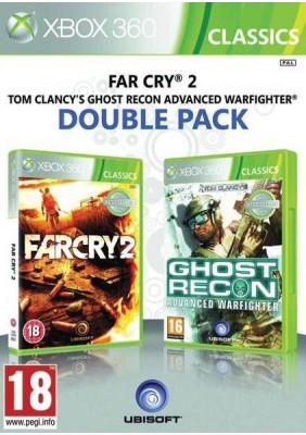 Far Cry 2 + Tom Clancy's Ghost Recon Advanced Warfaghter Double Pack