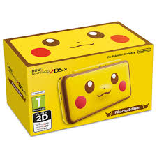 New Nintendo 2DS XL Pikachu Edition