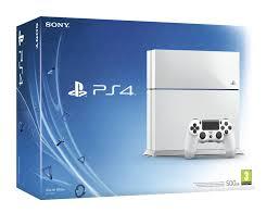 PlayStation 4 500GB slim (Glacier White)