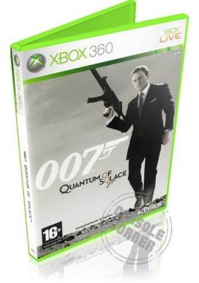 007 Quantum of Solace - Xbox 360 Játékok