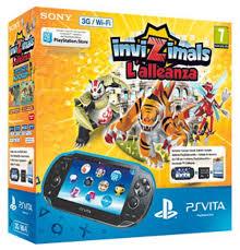 PlayStation Vita Slim (Wi-Fi) + Invizimals: The Resistance - PS Vita Gépek