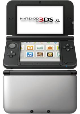 Nintendo 3DS XL (Ezüst-fekete)