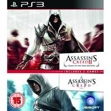Assassins Creed 2 GOTY & 1 Double Pack
