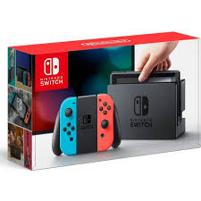Nintendo Switch Neon Blue / Neon Red + Donkey Kong Country Tropical Freeze