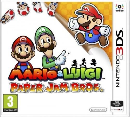 Mario & Luigi Paper Jam Bros. - Nintendo 3DS Játékok