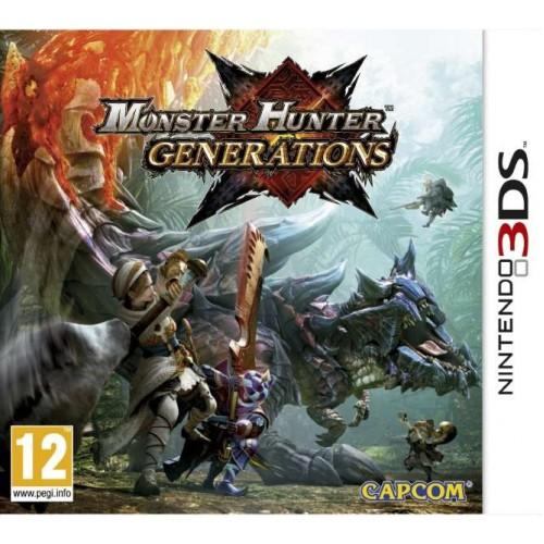 Monster Hunter Generations - Nintendo 3DS Játékok