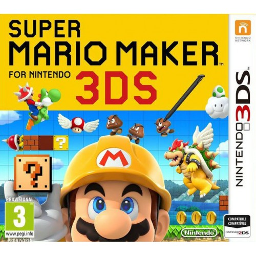 Super Mario Maker - Nintendo 3DS Játékok