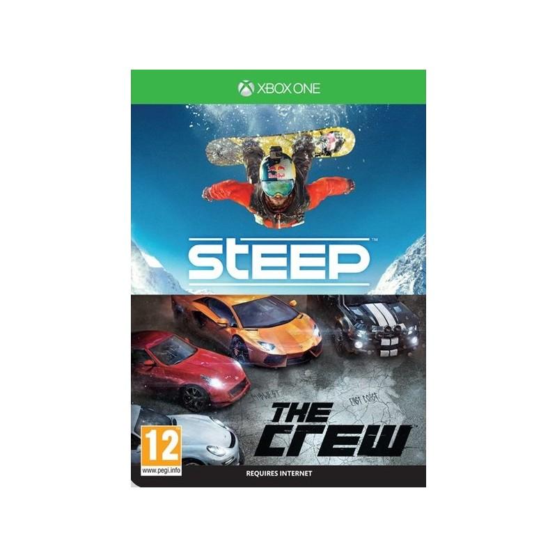 The Crew + Steep letöltőkód  - Xbox One Játékok
