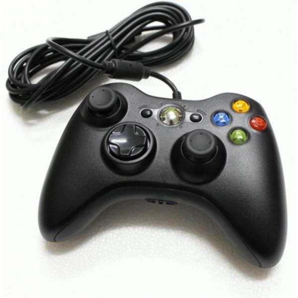 Xbox 360 Vezetékes Controller (Felújított/Refurbished) - Xbox 360 Kiegészítők
