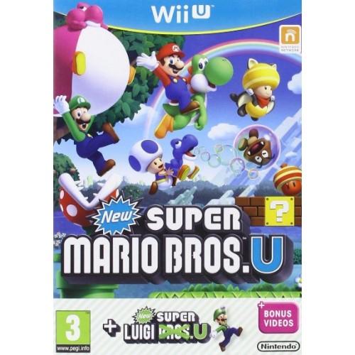 New Super Mario Bros U + New Super Luigi U