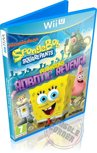 SpongeBob Squarepants Plankton s Robotic Revenge