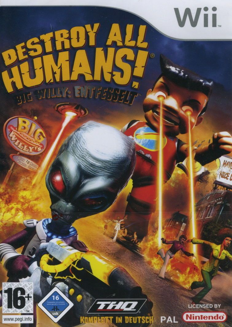 Destroy All Humans Big Willy Unleashed