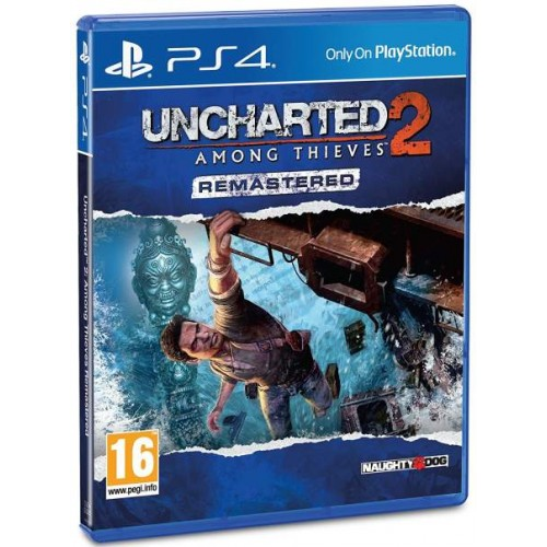 Uncharted 2 Among Thieves Remastered - PlayStation 4 Játékok