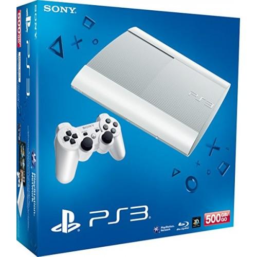 PlayStation 3 Super Slim 500 GB Fehér