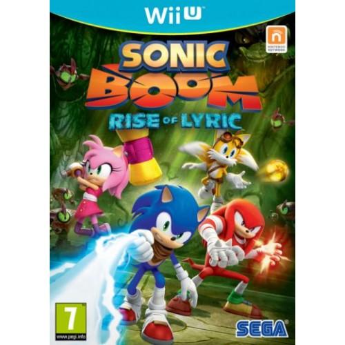 Sonic Boom Rise of Lyric