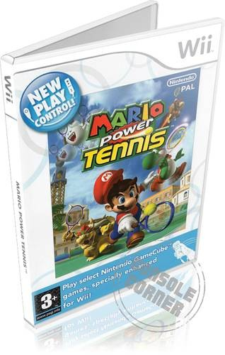 New Play Control Mario Power Tennis -