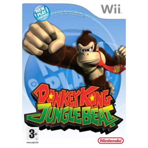 New Play Control Donkey Kong Jungle Beat -