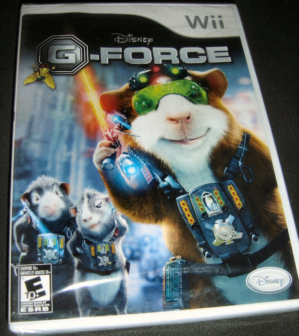 Disney G force -