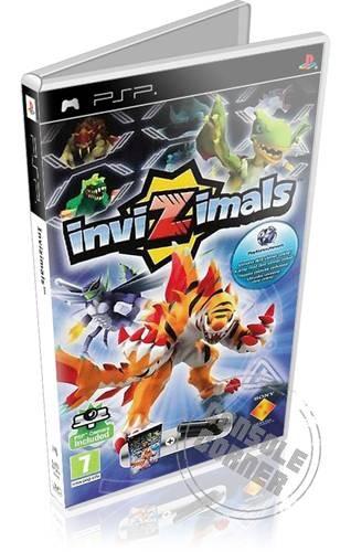 Invizimals Shadow Zone - PSP Játékok