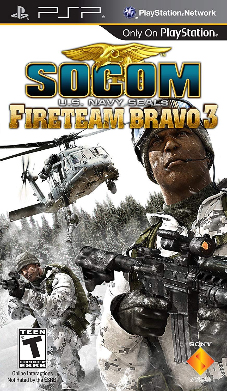 SOCOM FireTeam Bravo 3 - PSP Játékok