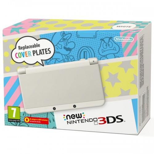 New Nintendo 3DS (Fehér) + 4 GB memóriakártya