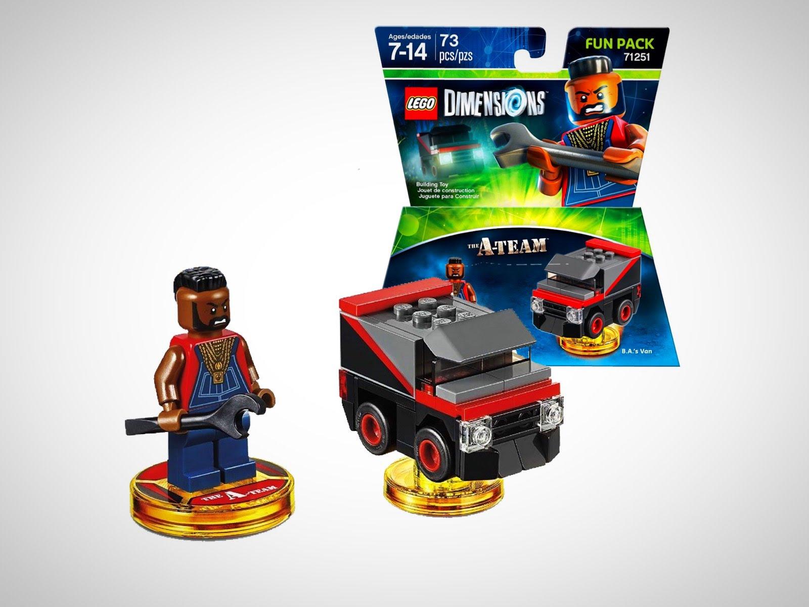 Lego Dimensions Fun Pack 71251