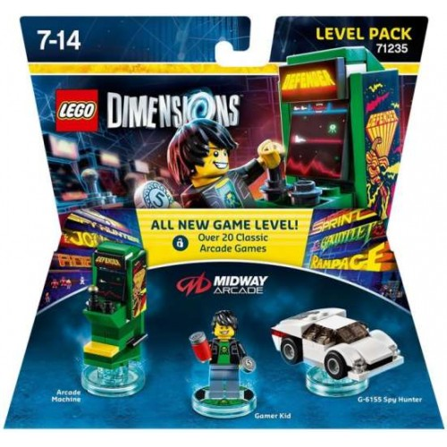 LEGO Dimensions Midway Retro Gamer Level Pack 71235