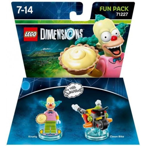 Lego Dimensions The Simpsons Krusty Fun Pack 71227