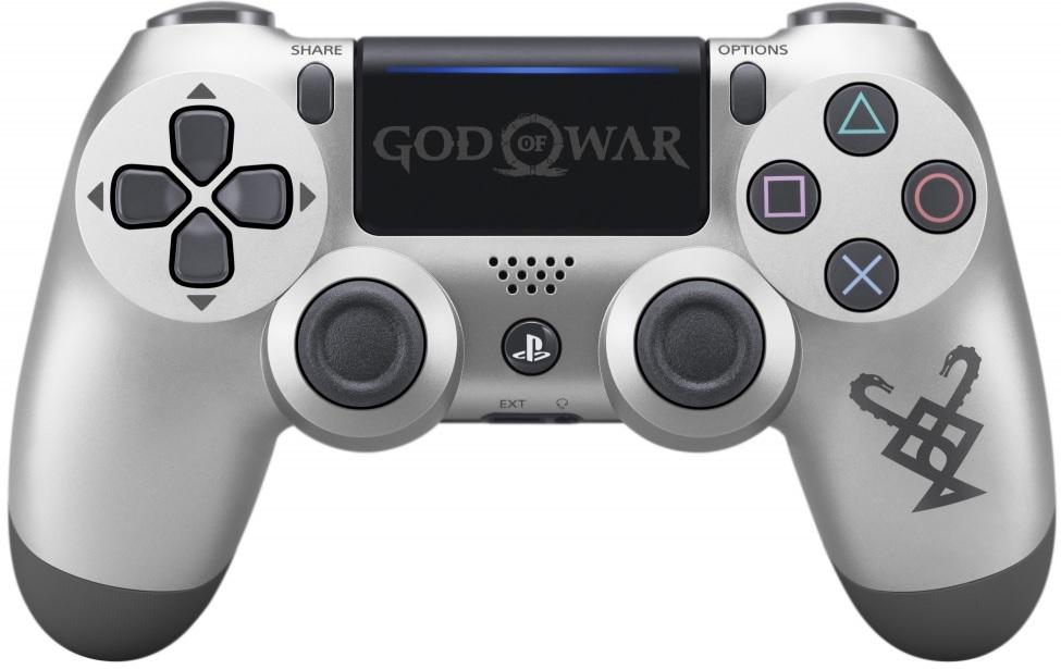 Sony Playstation 4 Dualshock 4 V2 Controller God of War Limited Edition