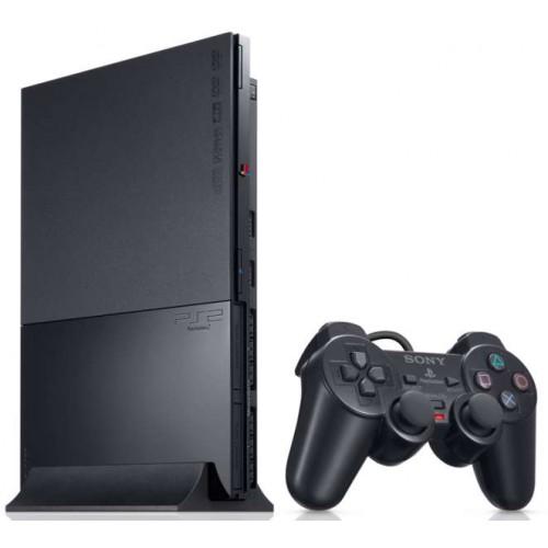 PlayStation 2 Slim Fekete - PlayStation 2 Gépek