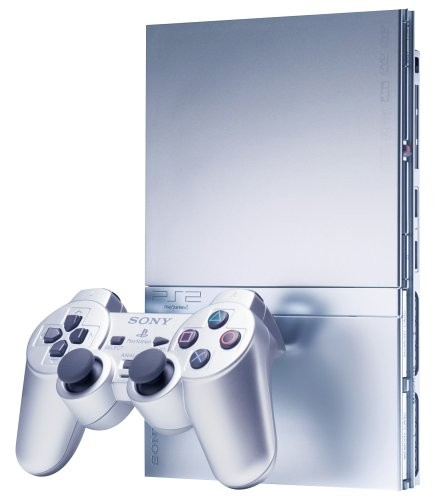 PlayStation 2 Slim Szürke - PlayStation 2 Gépek