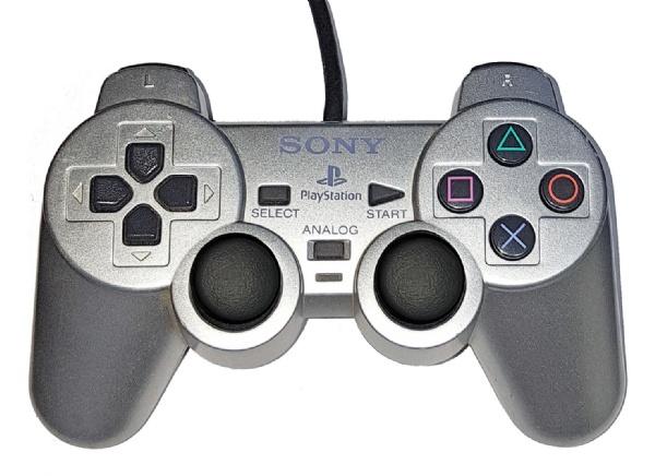 DualShock 2 vezetékes kontroller Szürke