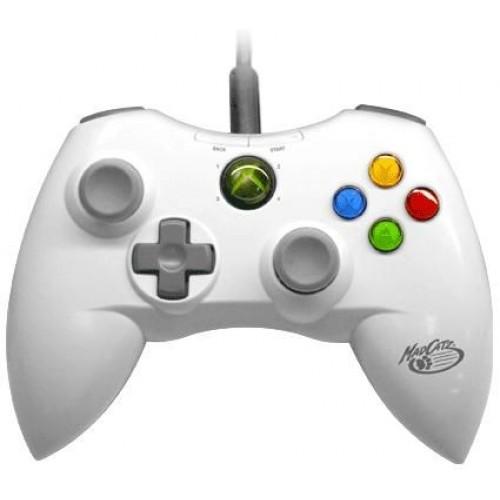 Xbox 360 MadCatz Controller Vezetékes(Fehér Fekete)