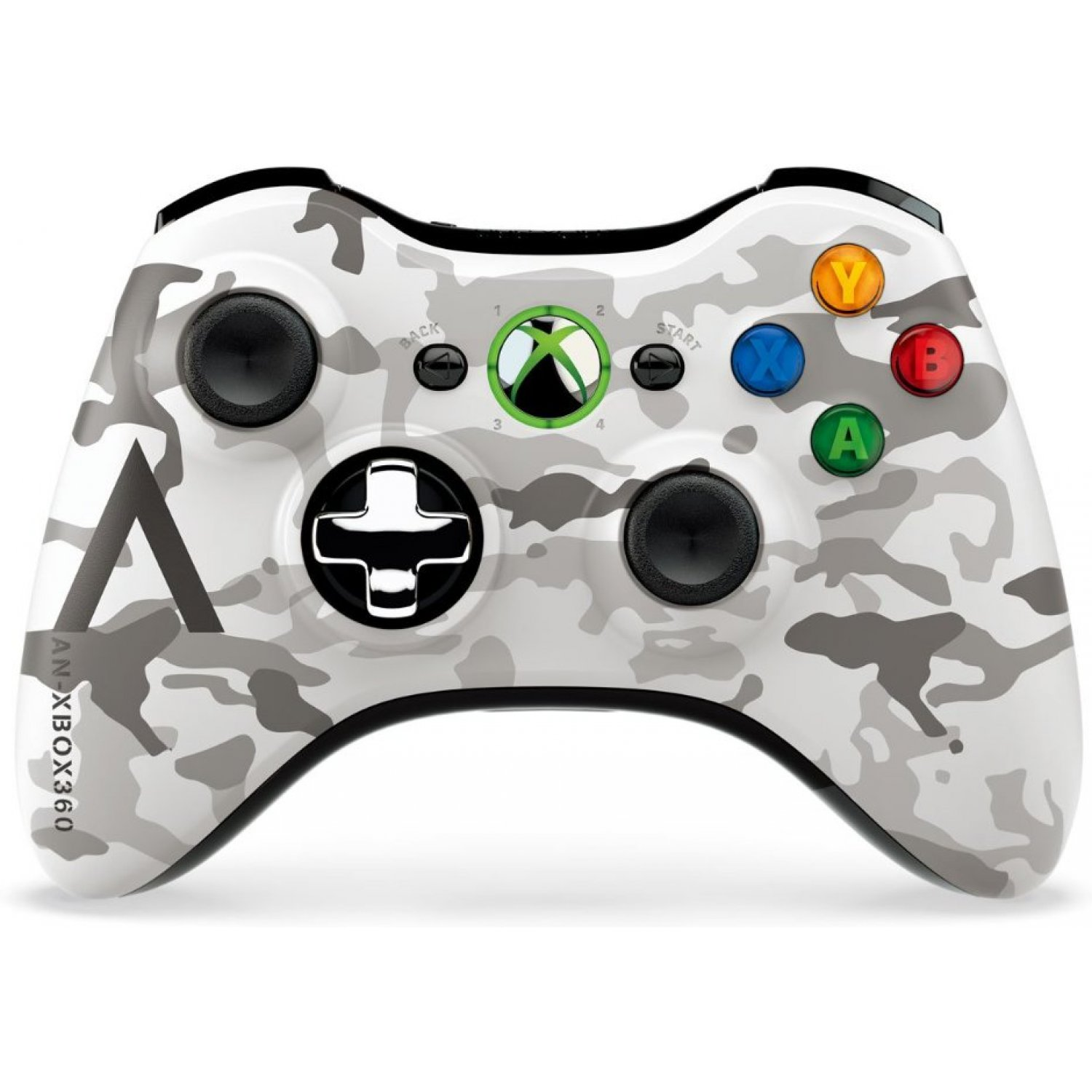 Xbox 360 Wireless Controller Arctic Camouflage